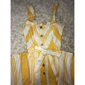 !!!!!PRICE DROP!!!!! Yellow Jumpsuit